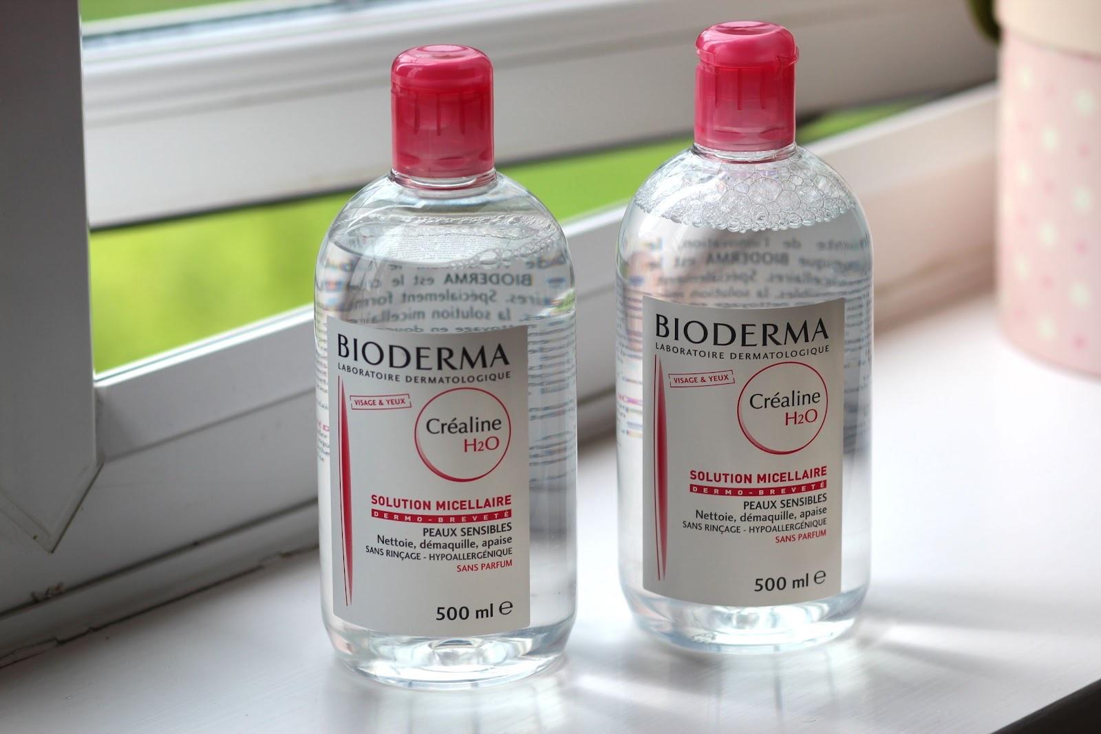 Nước Tẩy Trang Bioderma H2O 500ml - Hồng - Xanh ( Có 2 Màu Để Khách Chọn)