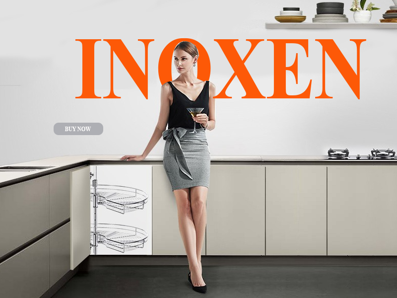 mâm xoay tủ bếp INOXEN
