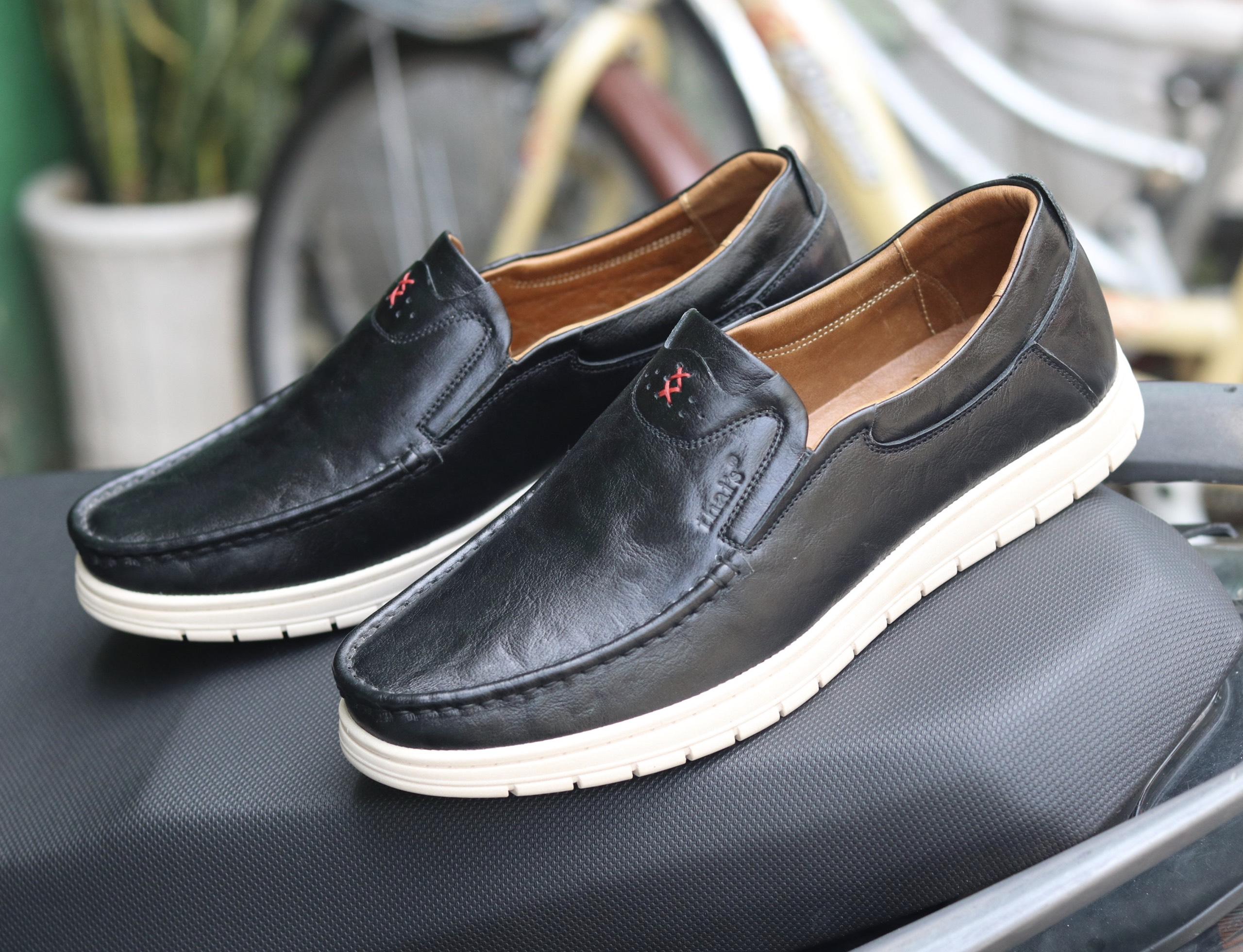 Giày lười da Thái Lan đẹp sang trọng TH04 (Ảnh 5)