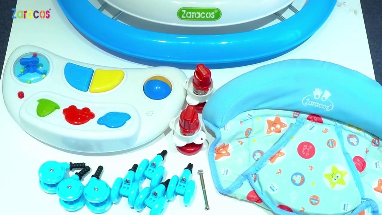 Xe tập đi cho bé Zaracos Zoe 666 (Xanh dương):4087