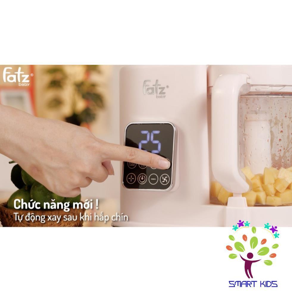 Máy xay hấp thức ăn dặm điện tử đa năng AUTO 3 Fatz baby FB9617KM (tặng kèm khay 6 cố trữ đông thức ăn dặm):4937