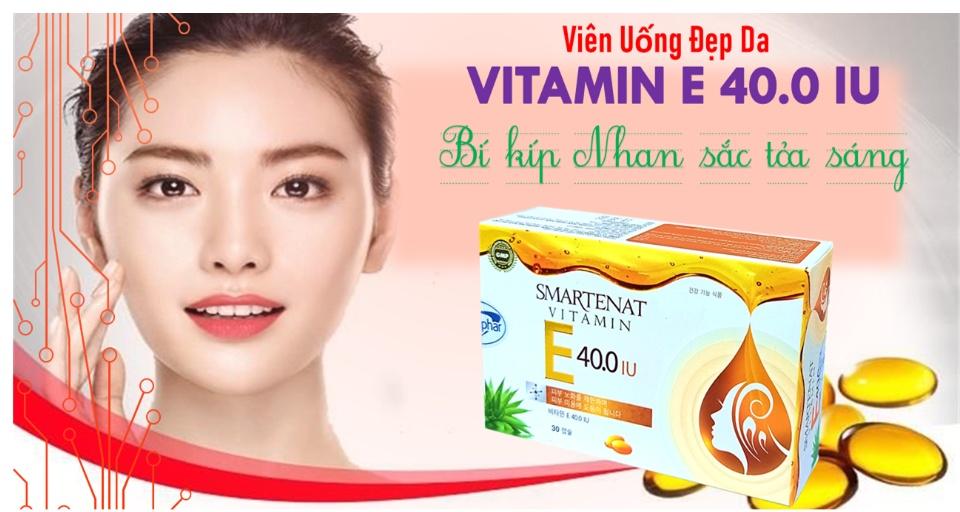 Viên uống đẹp da Hàn Quốc giúp bổ sung Vitamin E 4000mcg Om.ega 3 sáng mịn da chống lão hóa - Hộp 30 viên dùng 1 tháng 1