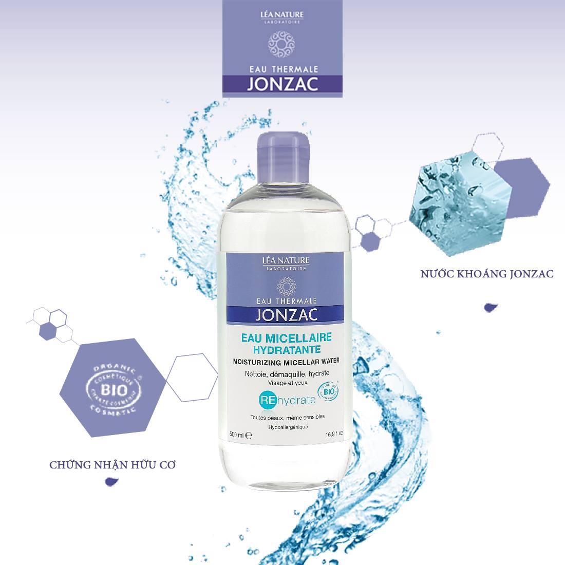 tẩy Trang Jonzac Micellar Water 500ml 1