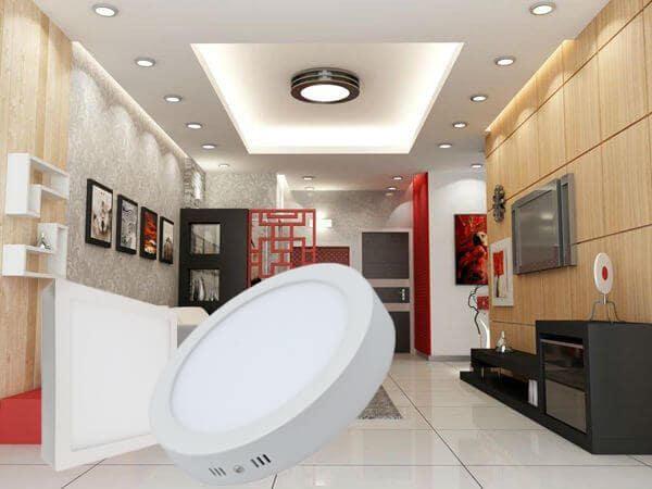Đèn led panel ốp trần nổi Sử dụng chip led cao cấp, tuổi thọ cao, tiết kiệm điện