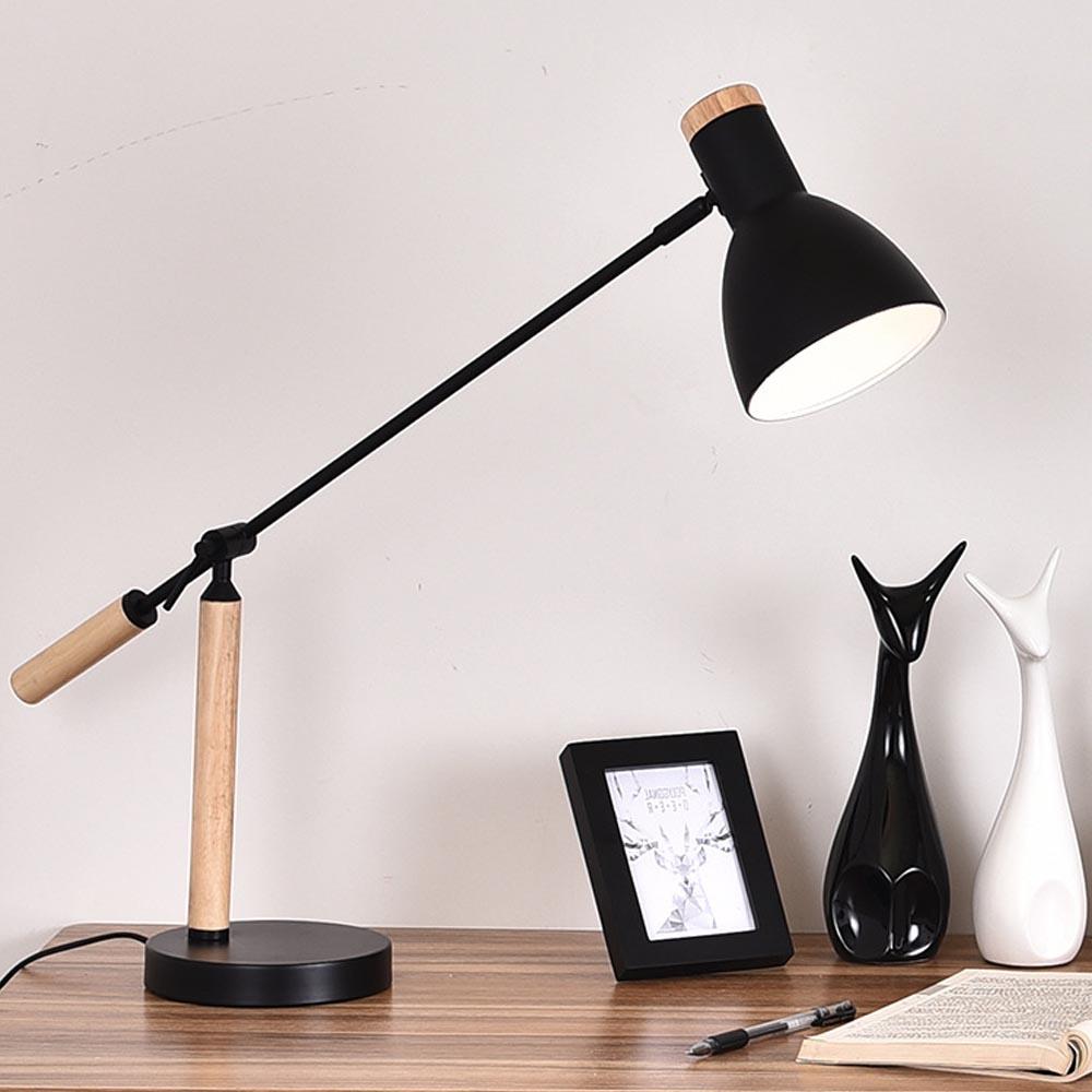 Đèn bàn làm việc, đèn học chống cận, đèn bàn cao cấp tặng kèm bóng led  chống cận