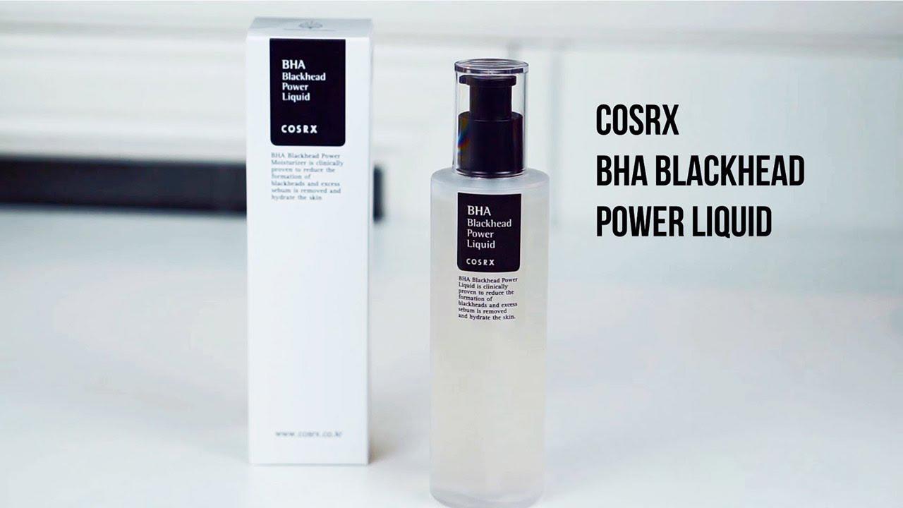 Tính chất BHA blackhead power liquid Cosrx 100ml tẩy tế bào chết hoá học