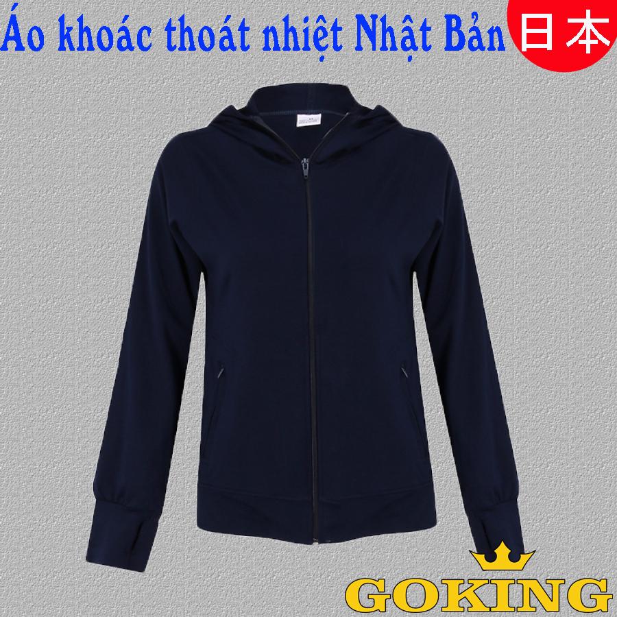 áo khoác thoát nhiệt Nhật Bản Goking cho nữ