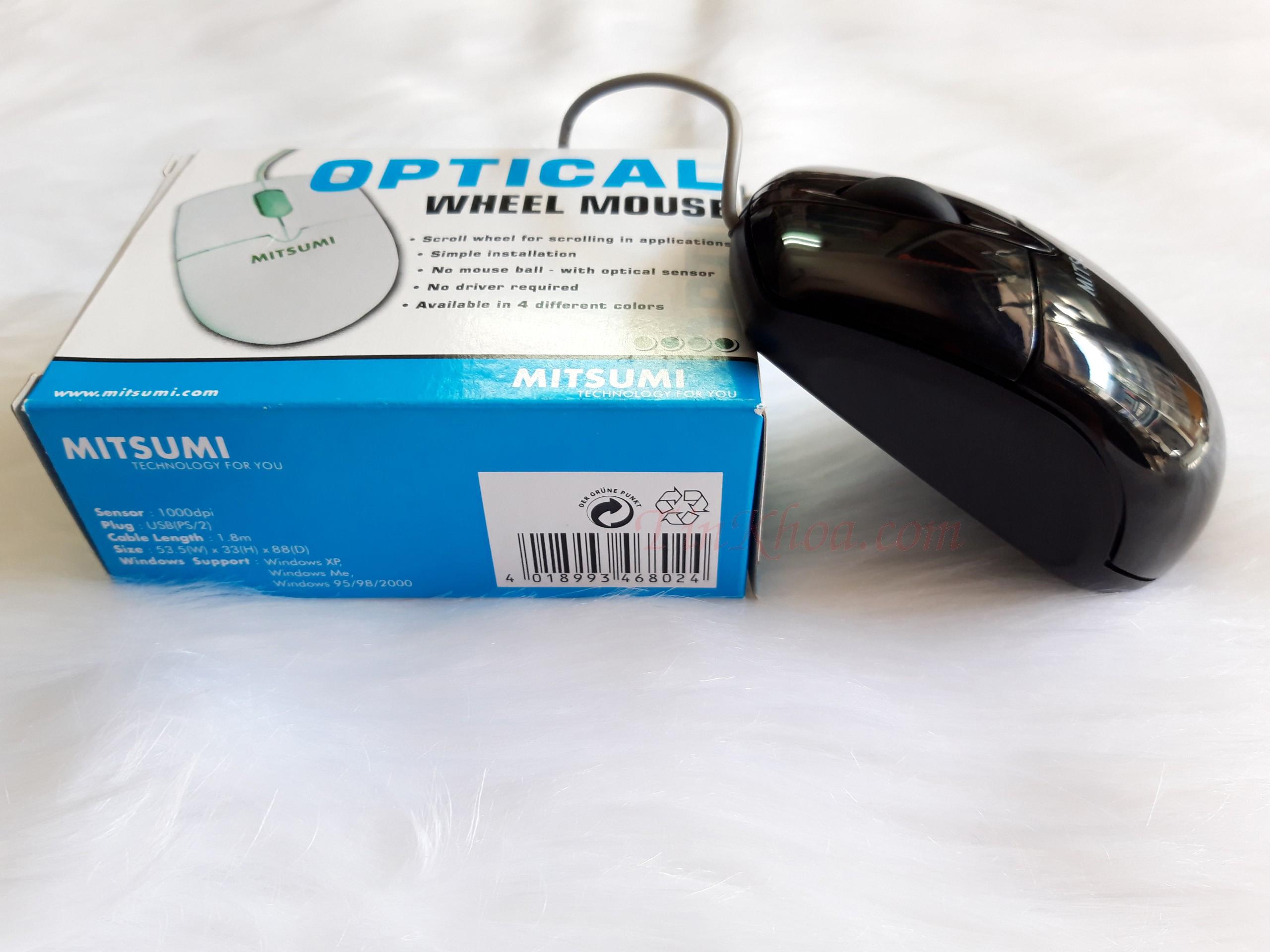 Chuột Mitsumi S6603 mini.: Mua bán trực tuyến Chuột cơ bản với giá ...
