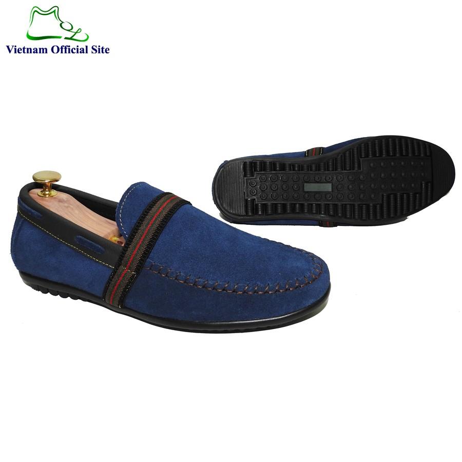 Giày mọi da bò thời trang nam hiệu MOL MMD108XD