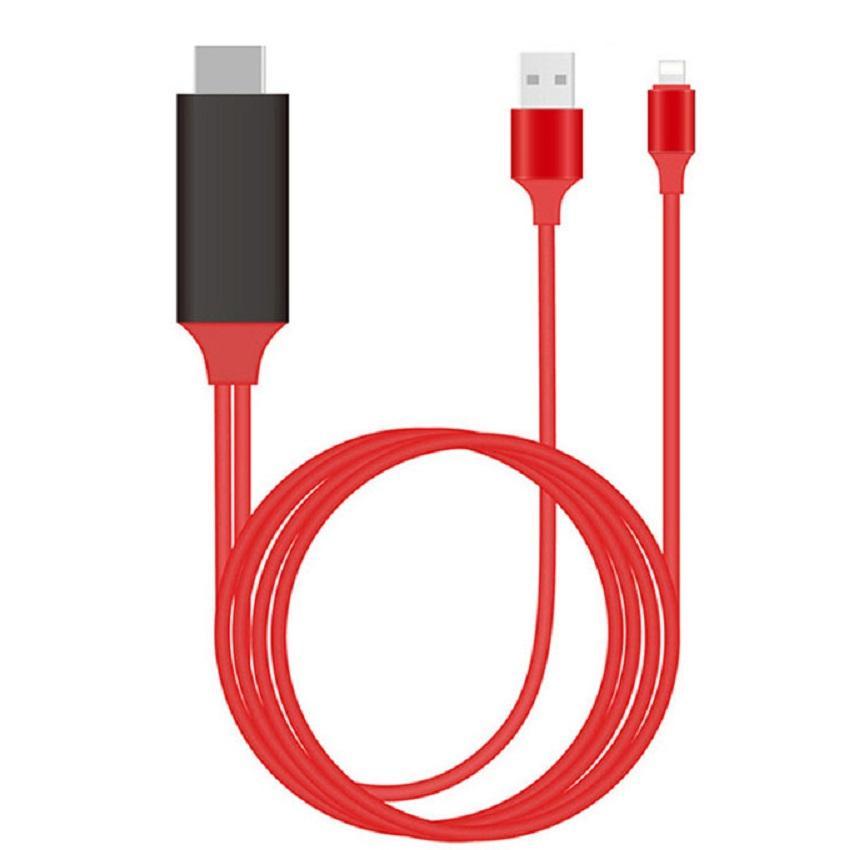 Dây kết nối Cao cấp giữa Tivi (cổng HDMI) với Iphone, Ipad (cổng Lightning) - Nối mạng cho Tivi nhà bạn Cáp MHL sang HDMI, HDTV kết nối điện thoại IOS với TV (iPhone 5 6 7 8 X - IOS 8-10-12) Cáp HDMI nối điện thoại với ti vi dùng cho Iphone [Thao2] Dũng 4
