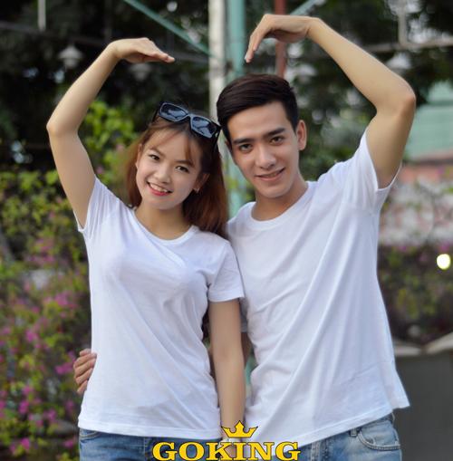 áo thun cotton cặp đôi